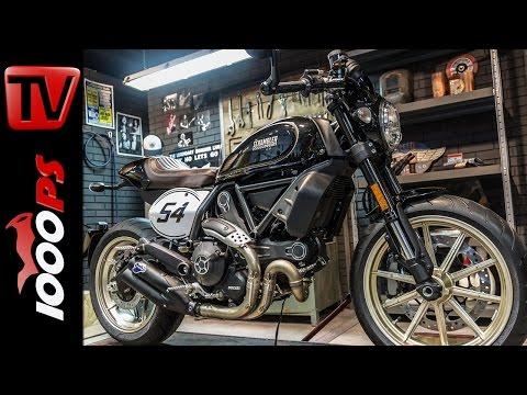 5 x Ducati Scrambler | Desert Sled, Café-Racer, Icon, Classic, Full Throttle | Zonkos Sicht