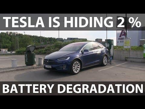 Battery degradation after 35k km (new battery)