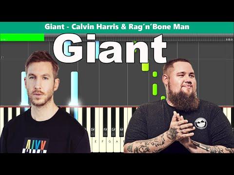 Giant Piano Tutorial - Free Sheet Music (Calvin Harris and Rag'n'Bone Man) thumbnail