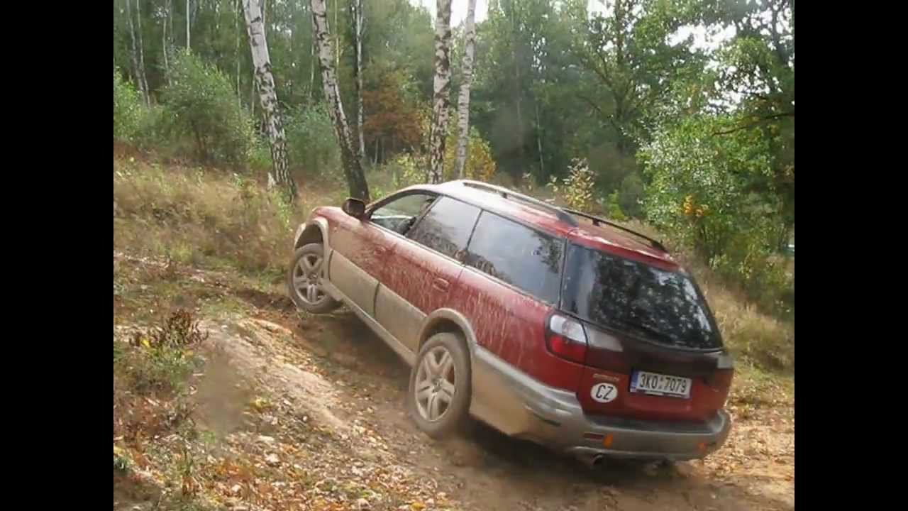 Subaru Outback Offroad >> Subaru Outback 2,5AT 2002 vs. Outback 2,5 AWD 2007 vs. Mitsubishi , off road - YouTube