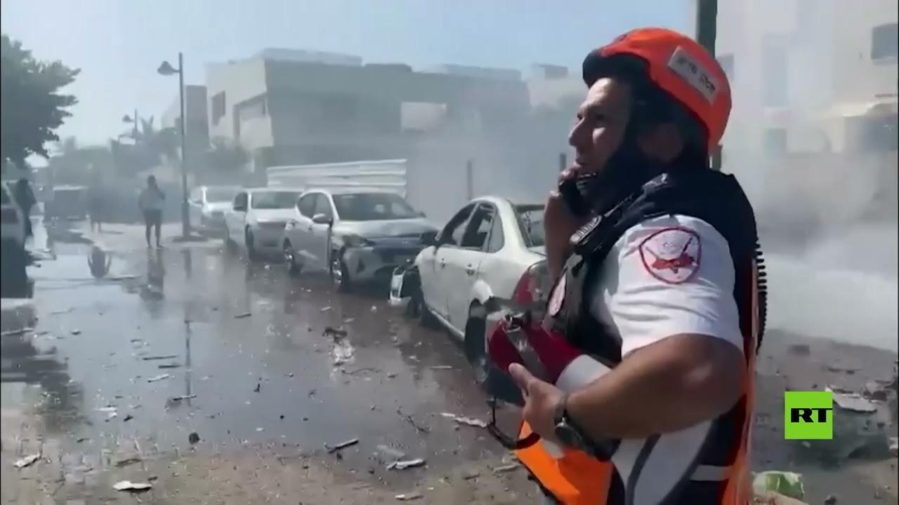 أضرار في مدينة عسقلان جراء سقوط صواريخ من غزة  - نشر قبل 6 ساعة