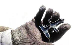 Небольшой мини тест брелка для ключей (пластиковый кастет)