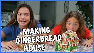 ANSWERING YOUR QUESTIONS / MAKING GINGERBREAD HOUSE / Q&A ....SISTER FOREVER
