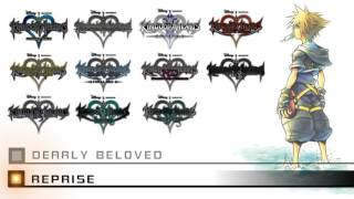 Repeat youtube video KINGDOM HEARTS - Dearly Beloved - All Versions HQ