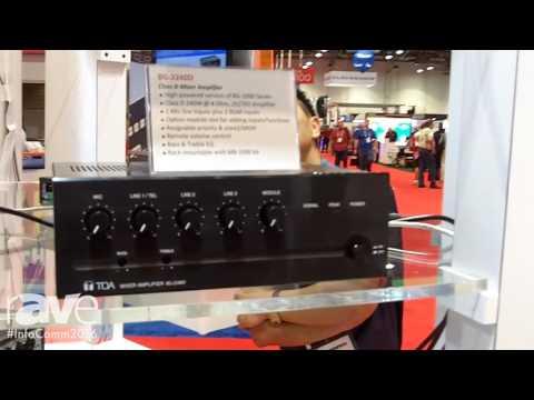 InfoComm 2016: TOA Electronics Intros BG-2240D Class D Mixer Amplifier