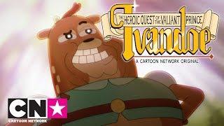 O Destemido Príncipe Ivandoe | O Príncipe e o Sapo Beijoqueiro | Cartoon Network