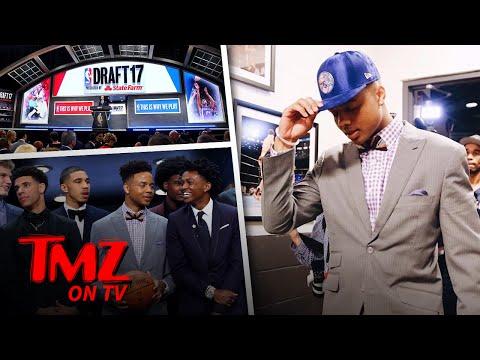 The NBA Draft Had A Surprising Star | TMZ TV
