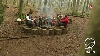 Sans frontières - Luxembourg: une école maternelle s'est installée dans une forêt