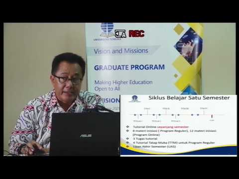 Orientasi Studi Mahasiswa Baru (OSMB) Program Pascasarjana UT