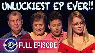 UNLUCKIEST EPISODE EVER!! Who Wants to be a Millionaire Series 16 Episode 8 2004