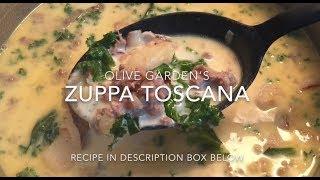 Olive Gardens Zuppa Toscana Soup