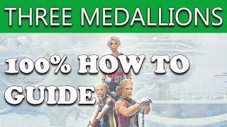 Final Fantasy XII The Zodiac Age - HOW TO DO THE THREE MEDALLIONS SIDEQUEST (GUIDE)