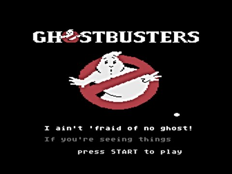Ghostbusters Atari 800 Lyrics.