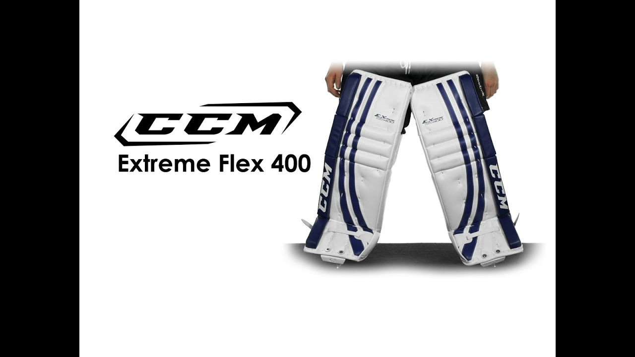 CCM Extreme Flex 400 Goalie Leg Pad Review