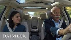 Carpool Recruiting: Mit Dieter Zetsche im Mercedes-Benz