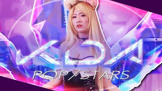 KDA POP-STARS Cosplay Dance Cover League of Legends Cindy Misa