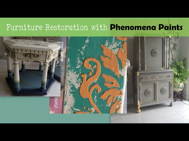 Phenomena Paints texturing | Gold Leaf over texture | Gold Leaf P1-Ep6