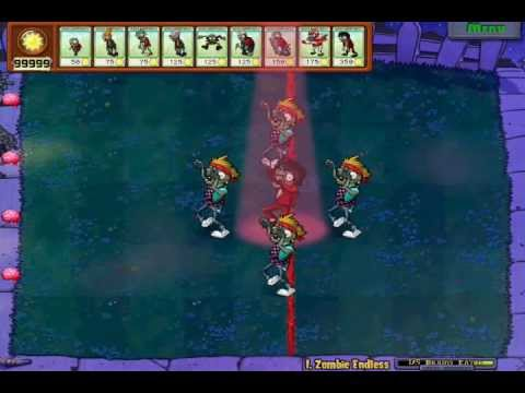 Plants vs. Zombies - Michael Jackson's 1st Consert in the game!!! Travel Video