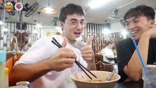 Bánh canh cua - Bánh Flan | JoLy Food Tour #2 - Miguel (Engsub - Vietsub)
