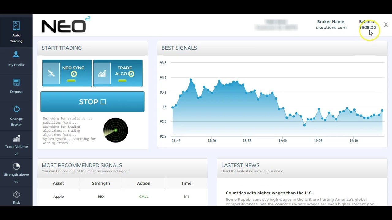 Binary options bullet results