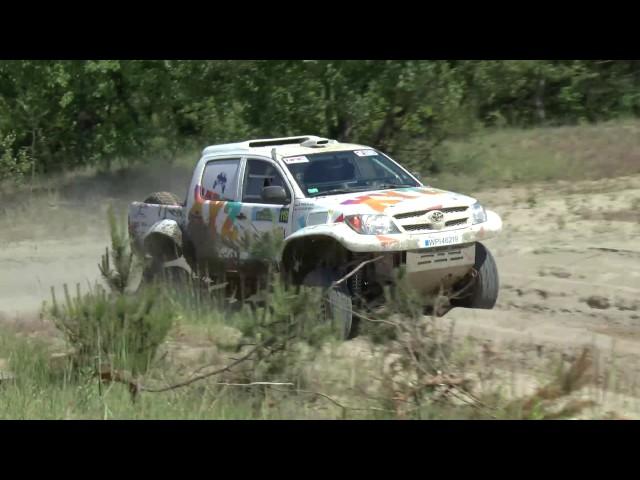 NAC Warszawskie Safari 2017 - Łukasik / Krencik - Toyota Hilux  | MaxxSport |