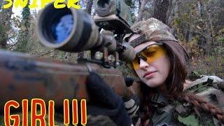 SNIPER GIRL Scope Camera Airsoft  / ITALIAN SNIPER