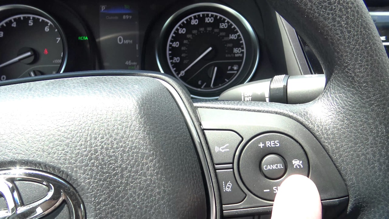 Toyota Corolla Le >> How to Switch from Toyota Radar Cruise Control to Normal Cruise Control - YouTube