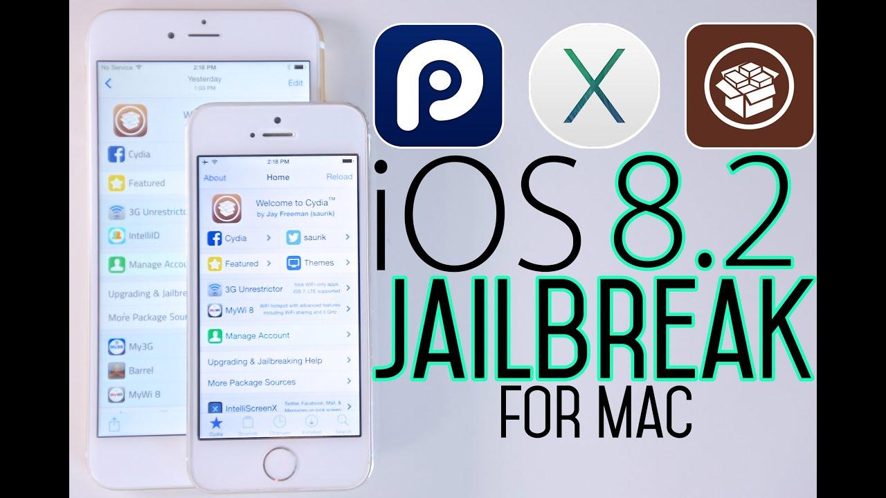 Jailbreak iOS 8.2 Untethered For Mac - 8.1.3 to 8.2 Jailbreak - YouTube