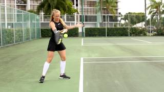 WTA Professional Tennis Player Julia Glushko Chooses Zensah