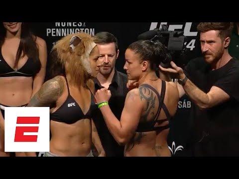 [FULL] UFC 224 official weigh-in with Amanda Nunes vs. Raquel Pennington | ESPN
