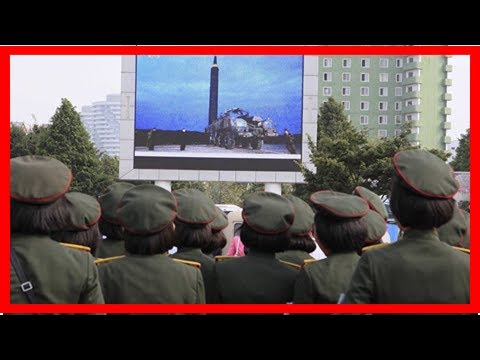 News today-new missile test? Tokyo, seoul announced the alarm by radio signals from n Korea