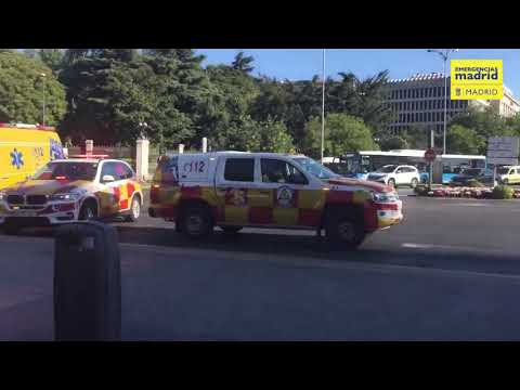 El operativo de Emergencias Madrid para asistir a Elena Zapico / VÍDEO EMERGENCIAS MADRID