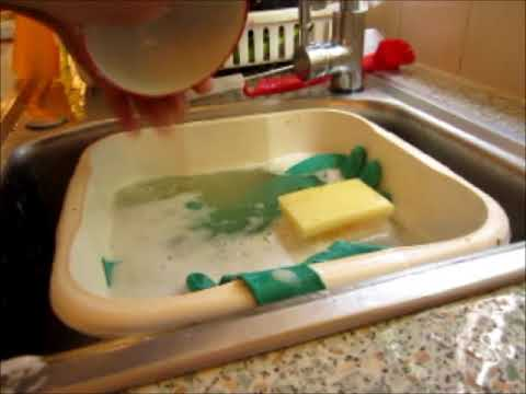 Washing up after a Chackle Cheese Wrap