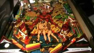 Gorgar Pinball Machine Video