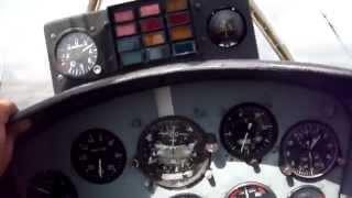 видео полетать на спортивном самолете