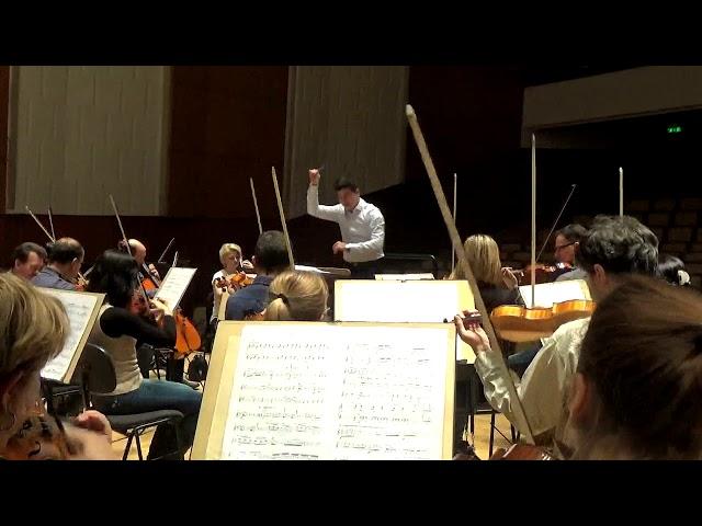 Rehearsing De Falla