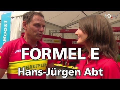 MD.ON TOUR Formel E Interview Hans-Jürgen Abt