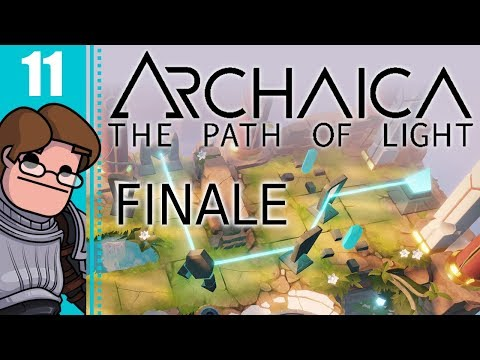 Let's Play Archaica: The Path of Light Part 11 FINALE - Temple of the Order of Light