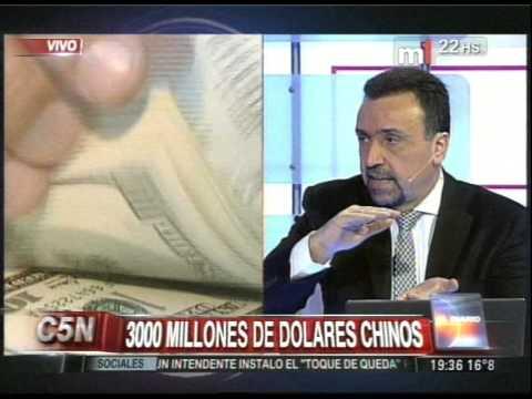 C5N - ECONOMIA: INGRESO DE DOLARES A TRAVES DE ACUERDOS CON CHINA