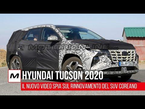 Hyundai Tucson 2020 | Il nuovo SUV compatto spiato in strada