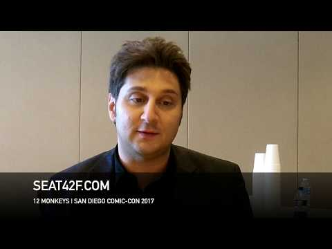 Terry Matalas 12 MONKEYS Interview Comic Con HD