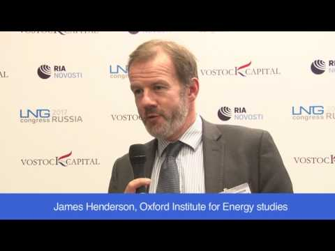 James Henderson, Oxford Institute for Energy studies