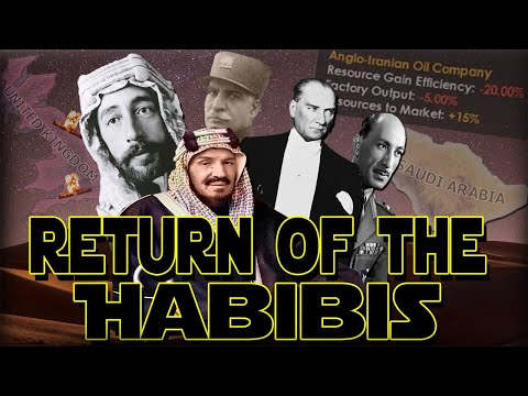 THE RETURN OF FIVE HABIBIS! MIDDLE EAST VS IMPERIALIST SUPERPOWERS! - HOI4 Multiplayer