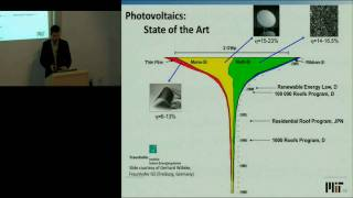 The MIT Energy Initiative: Sustainable Energy and Terawatt-Scale Photovoltaics