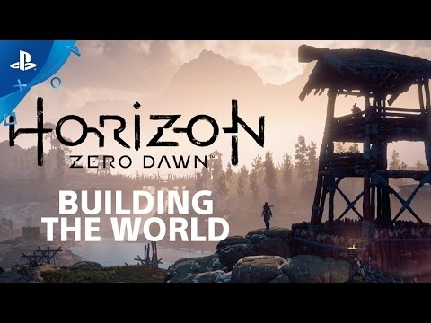 Horizon Zero Dawn: Building the World - Countdown to Launch at PS Store   PS4
