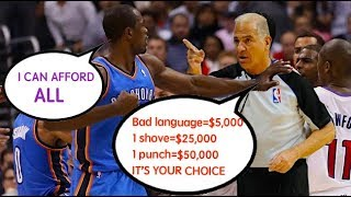 "NBA ""Fined"" Moments (Part 6)"