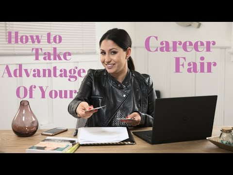 How To Take Advantage Of Your Career Fair | The Intern Queen