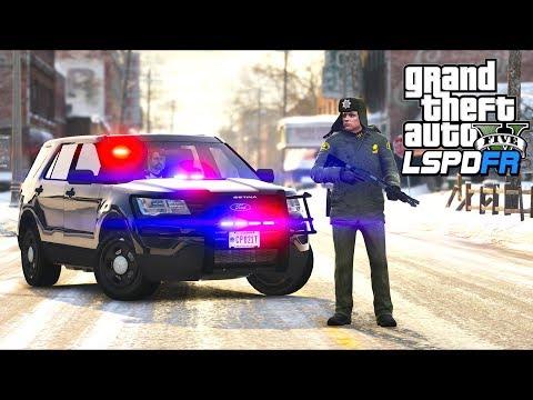 GTA 5 - LSPDFR Ep409 - North Yankton Police Patrol!!