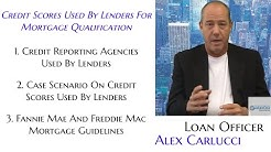 Credit Scores Used By Lenders For Mortgage Qualification