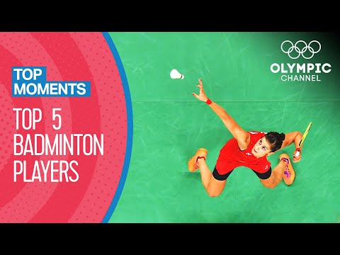 Top 5 Female Badminton Singles Players in Olympic History | Top Moments
